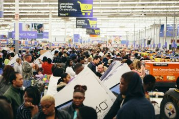 Black Friday Walmart death
