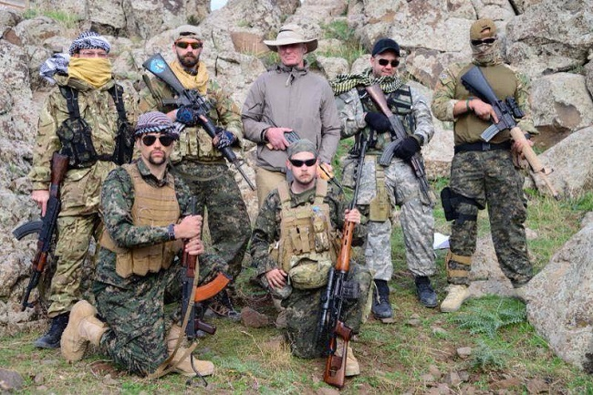 Volunteers who are willing to take up the fight against Islamic State