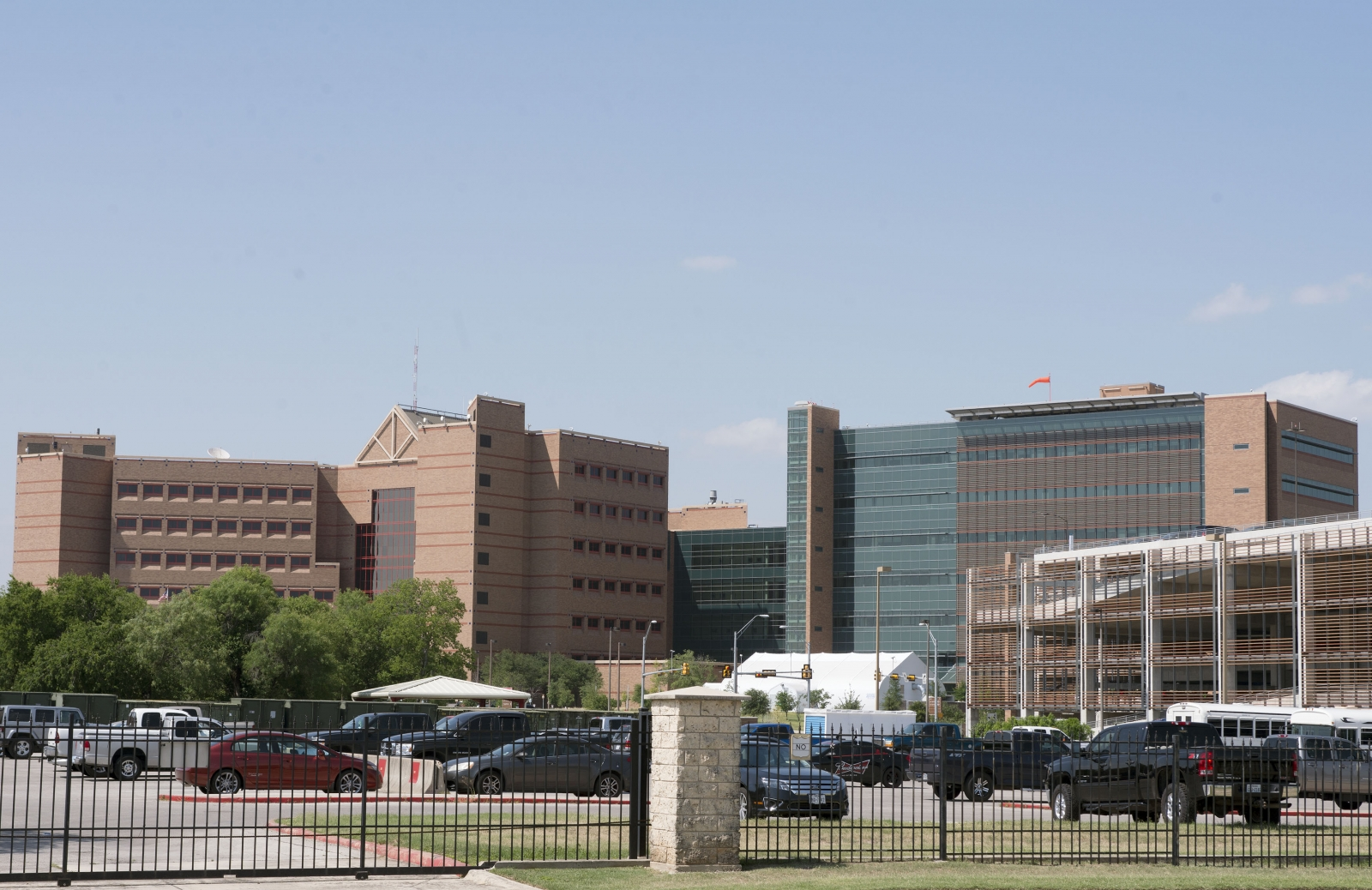 The Brooke Army Medical Center, at Fort Sam Houston in San Antonio, Texas, is pictured June 12, 2014.