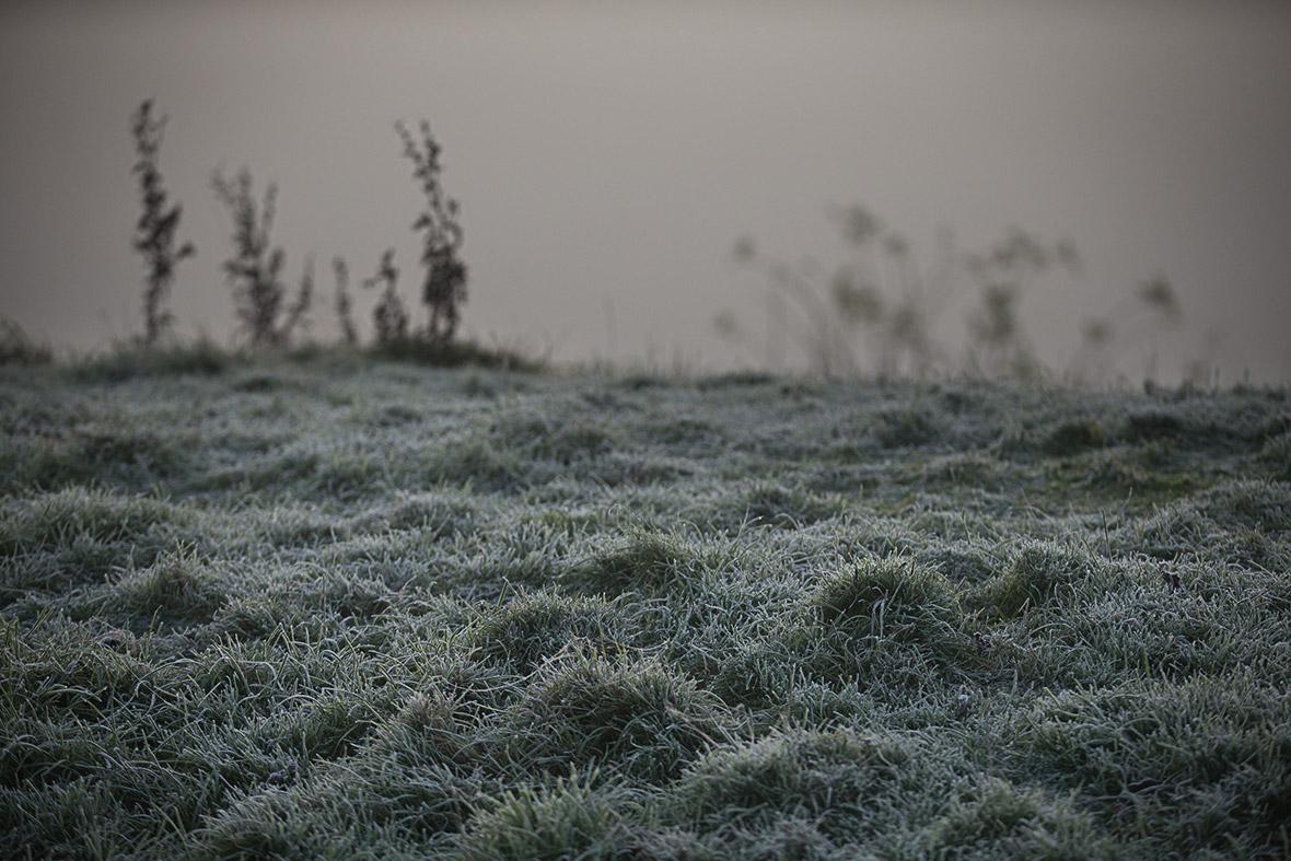 fog frost England