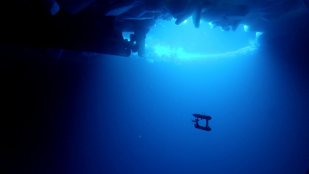 This underwater robot has succeeded in accurately measuring Antarctic sea ice for the first time ever