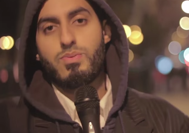 Preacher Imran ibn Mansur, also known as Dawah Man, was banned from a London university for his homophobic views