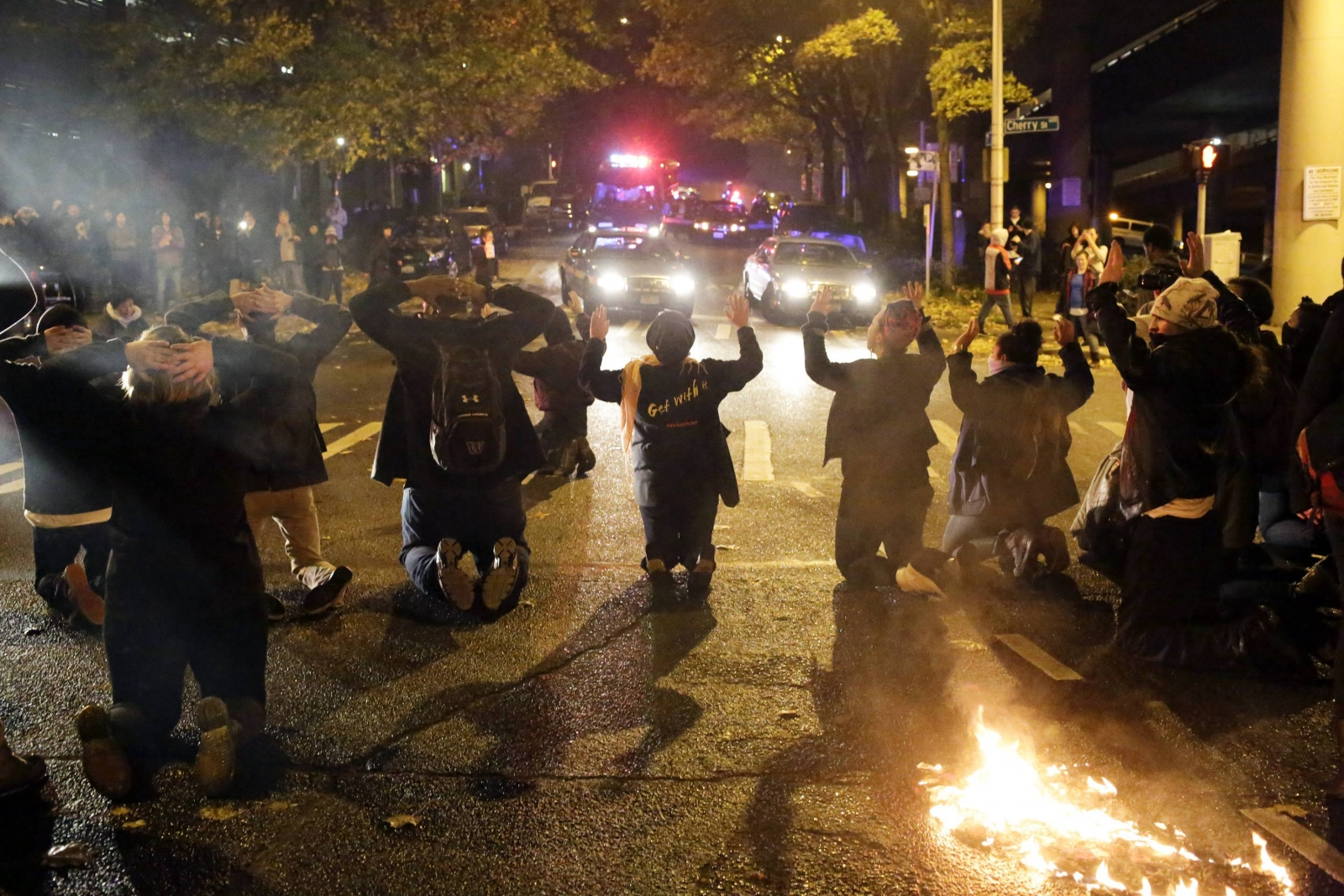 Ferguson: Violence Erupts After No Charges Filed Against Wilson