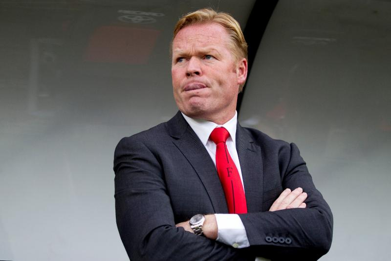 Koeman: Forster made a Bad Mistake Defensively, but He's a Great Keeper