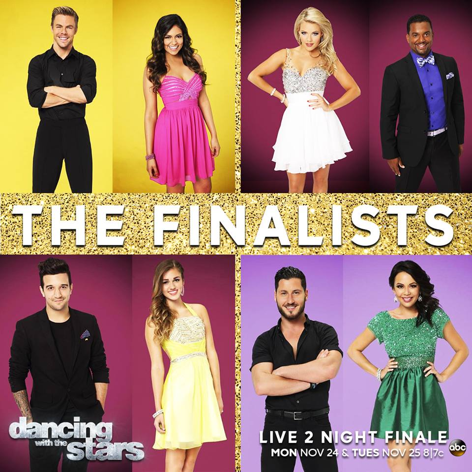 Dancing With the Stars Season 19 Finale Live Stream:Alfonso Ribeiro, Sadie Robertson or Jannel Parish, Who will Win?