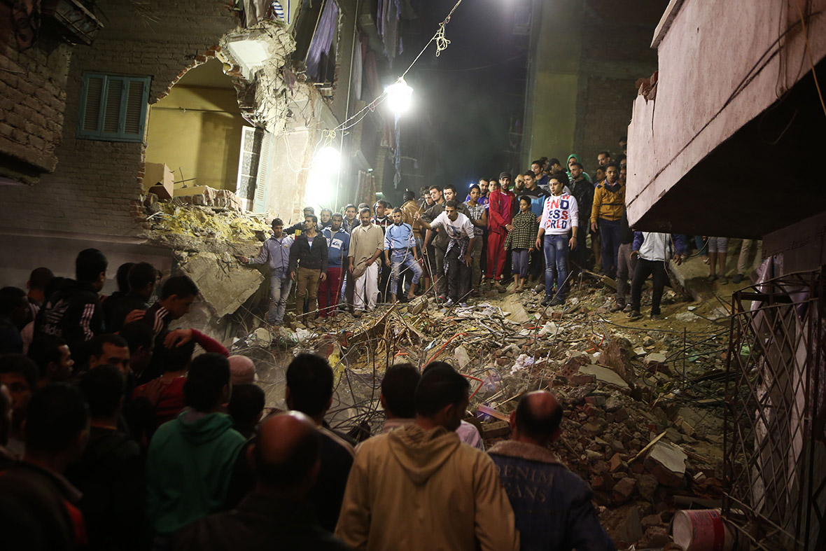 cairo building collapse
