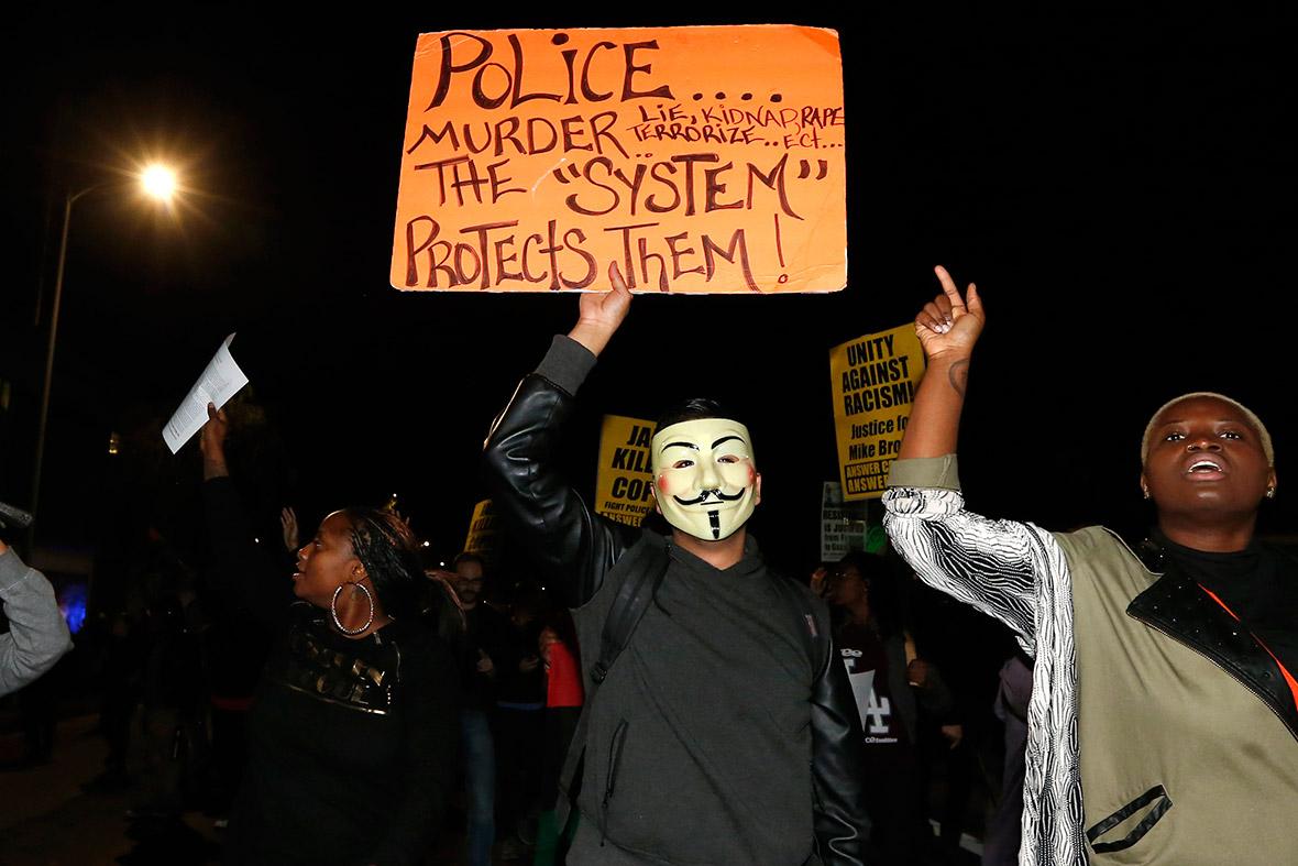 ferguson protest LA