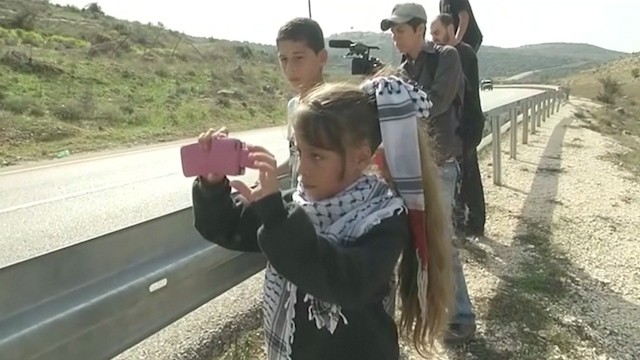 Eight-Year-Old Girl is West Bank Village's Youngest Citizen Journalist