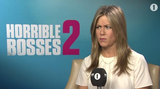 Jennifer Anniston Pranks Radio 1's Chris Stark