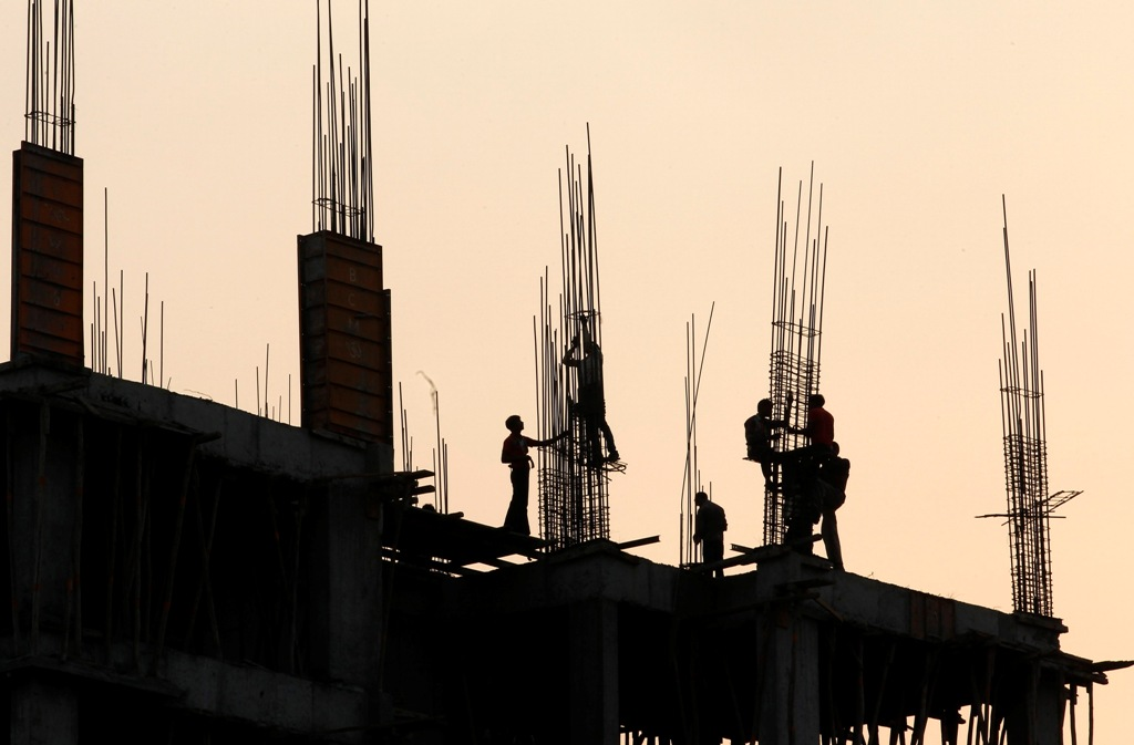 India Construction Site