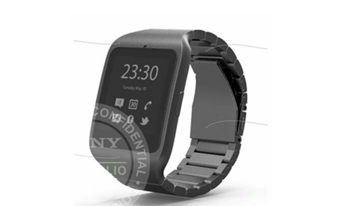 Sony E-Paper Smartwatch with Wrap-Around Display in ...
