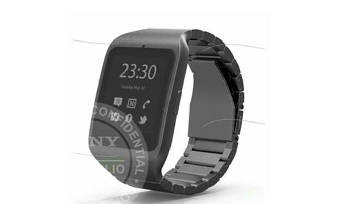 sony smartwatch e-paper Xperia
