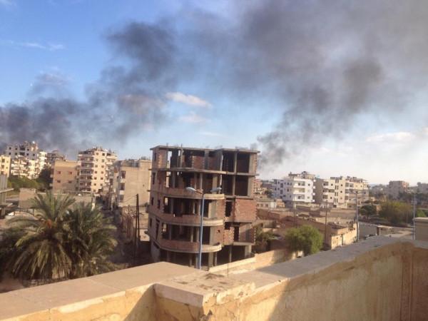 Syrian airstrikes