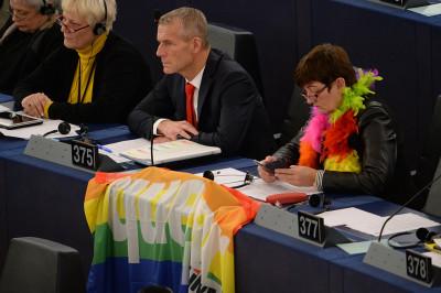 pope european parliament gay