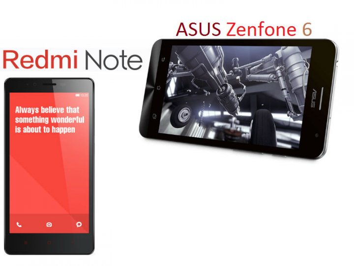 Xiaomi Redmi Note vs Asus Zenfone 6: A Basic Comparison of the Asian Smartphones