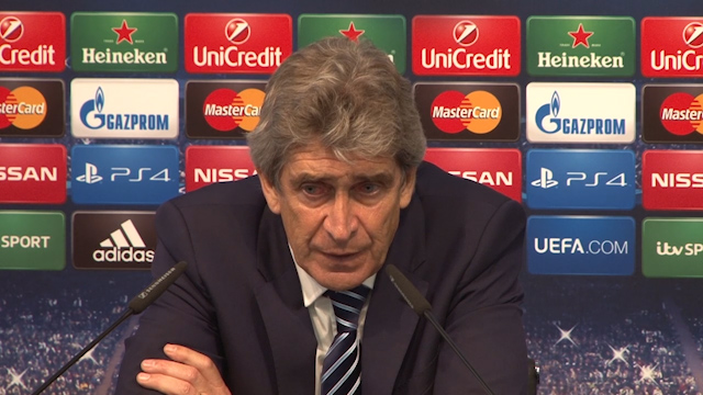 Pellegrini Hails Aguero after Win against Bayern Munich