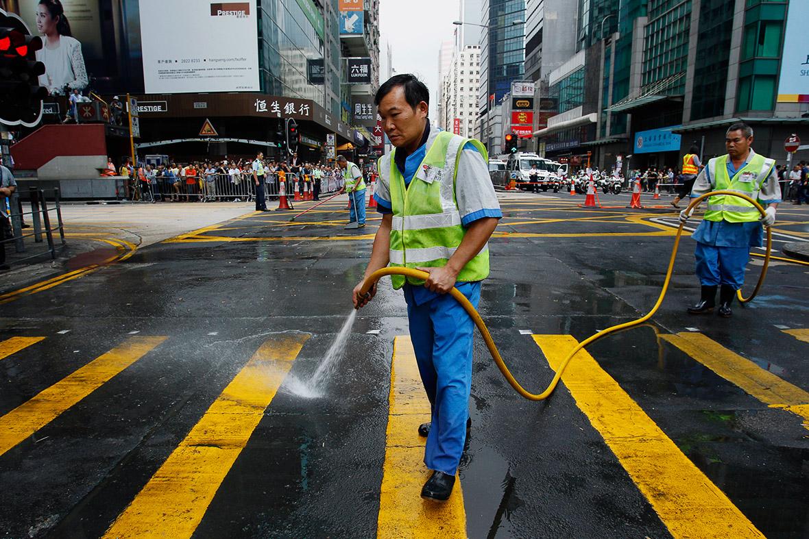 hong kong democracy protests