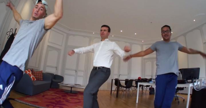 Hervé Blanché French Mayor Break Dance Rochefort
