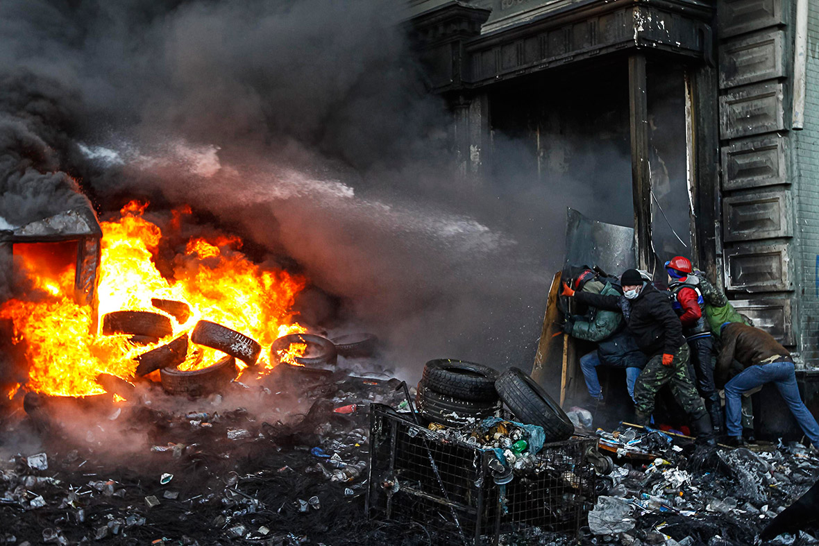 pictures of the year: Maidan Kiev Ukraine
