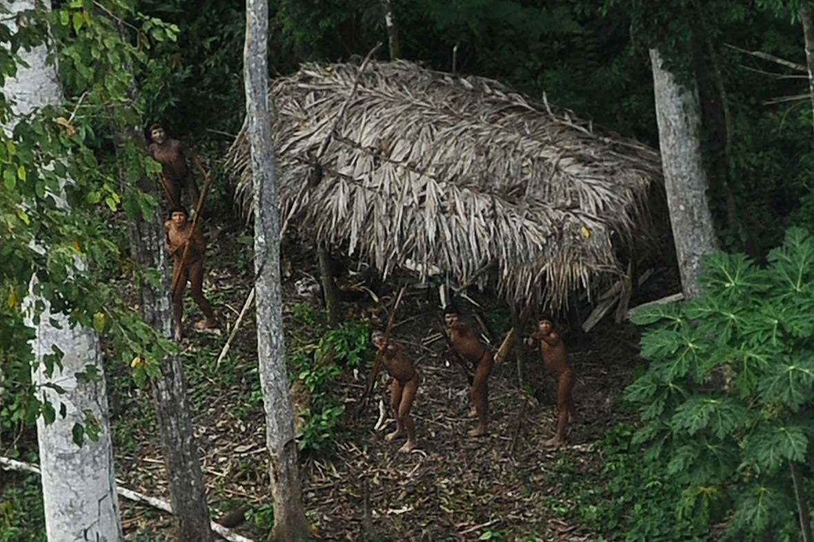 Pictures of the year: uncontacted tribe Amazon