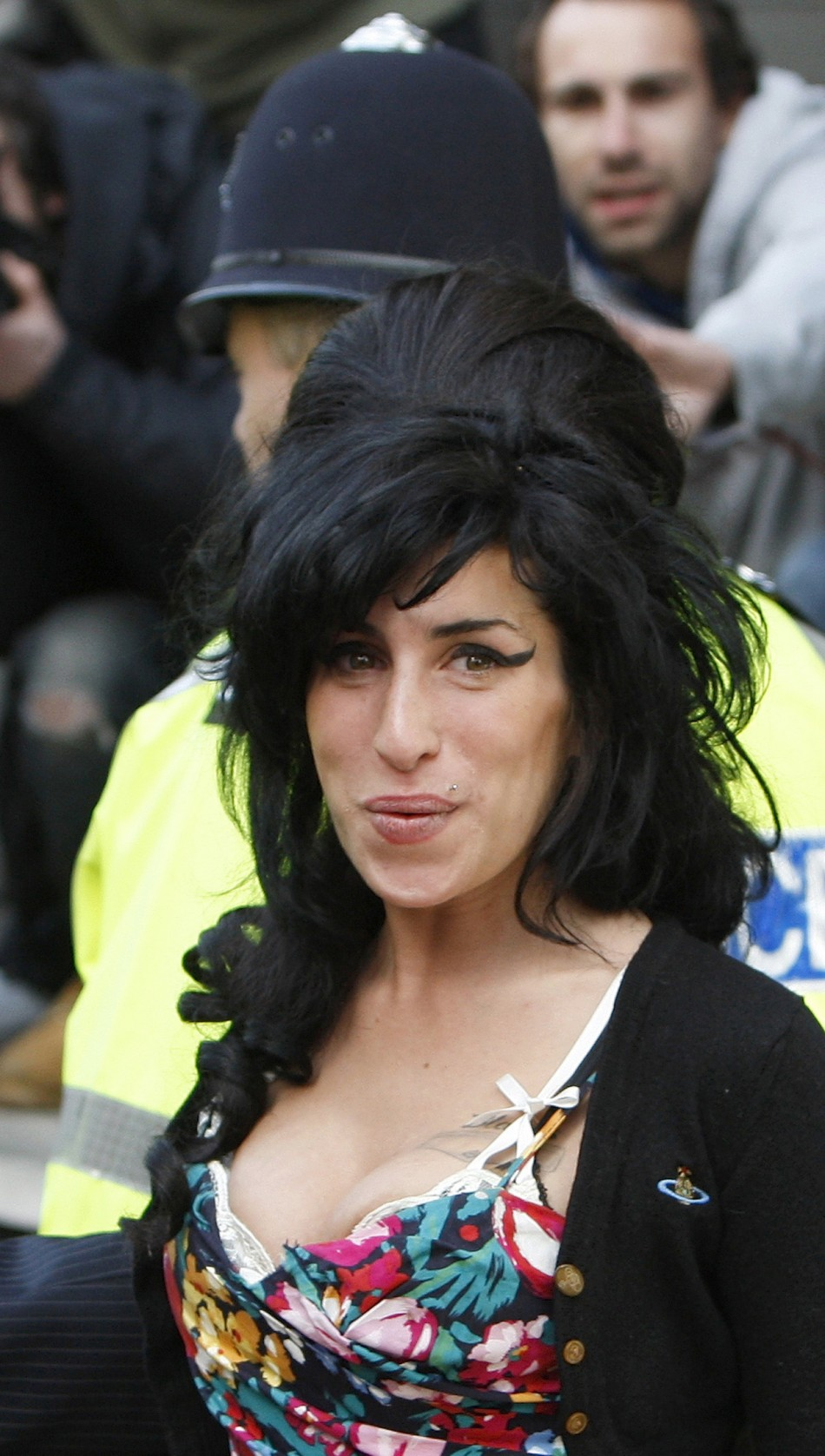 British singer Amy Winehouse