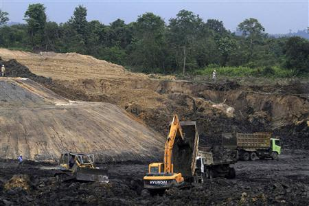Indonesia coal mines