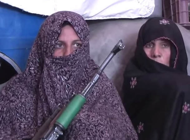 Afghan woman kill 25 taliban militants