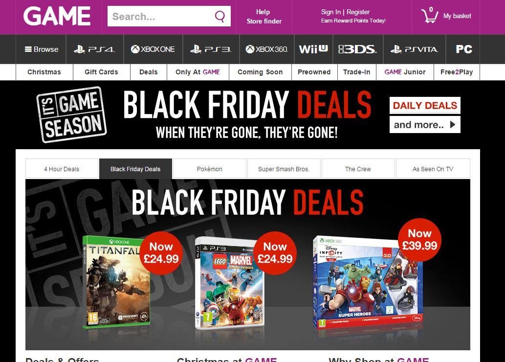 Wii games deals uk