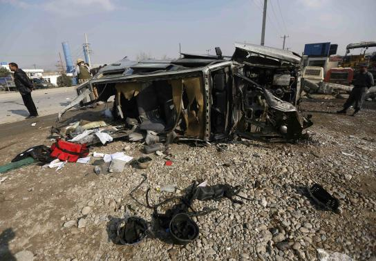 bomb uk embassy car kabul