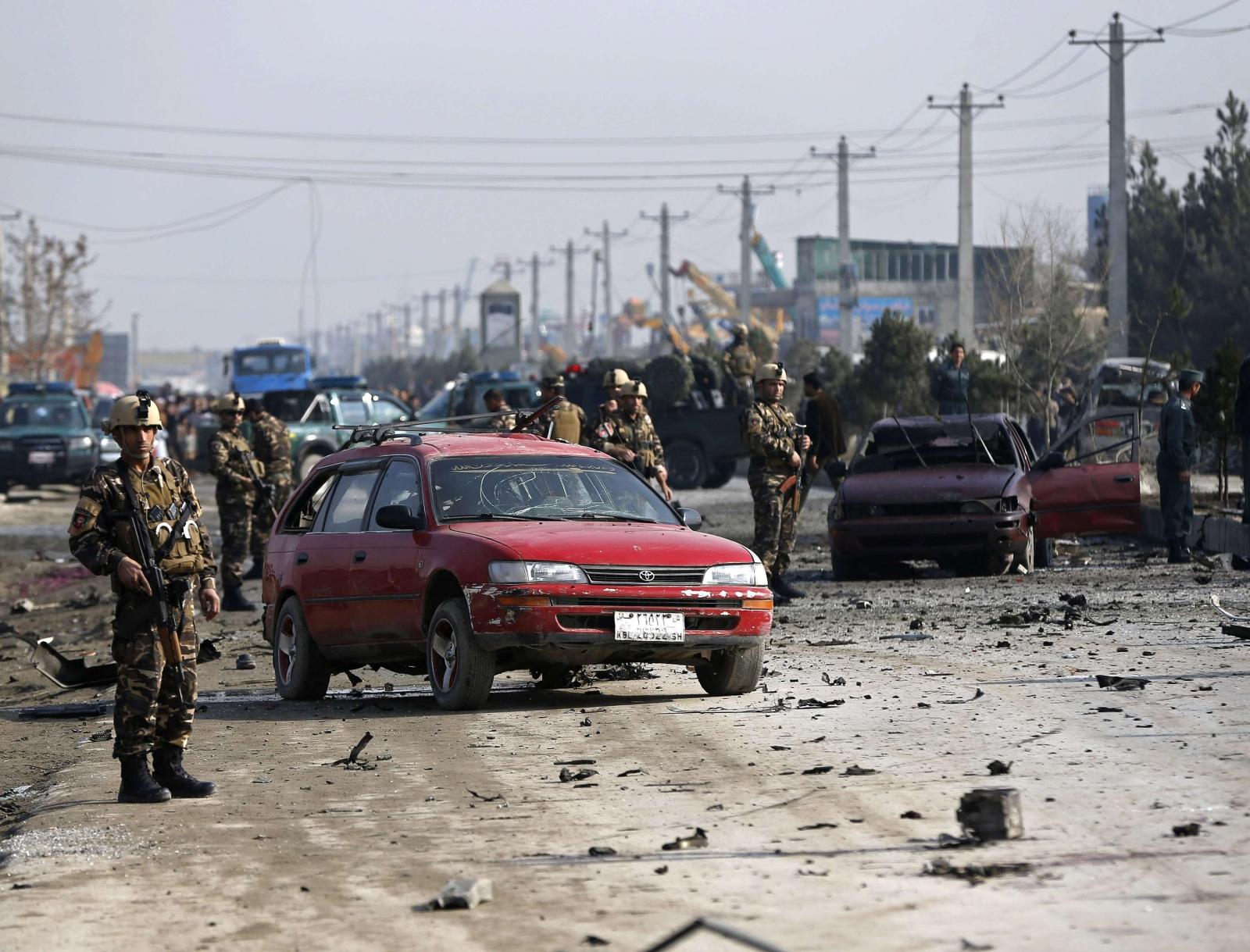 British Embassy Car Blasted by Bomb in Kabul Killing Four