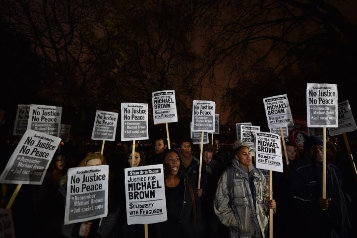 ferguson protest London