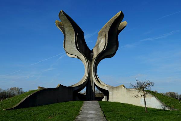 Former Yugoslavia monuments