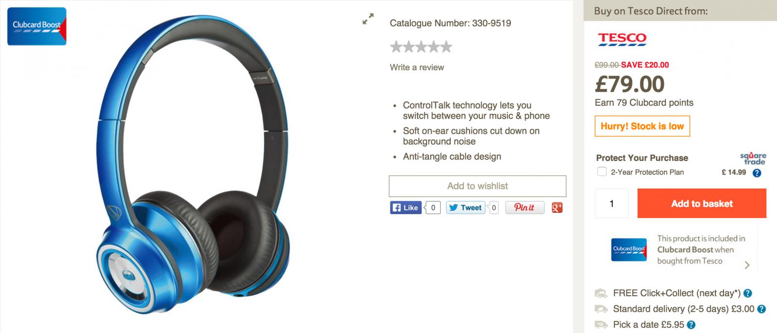 Tesco Black Friday Deals Announced Headphones