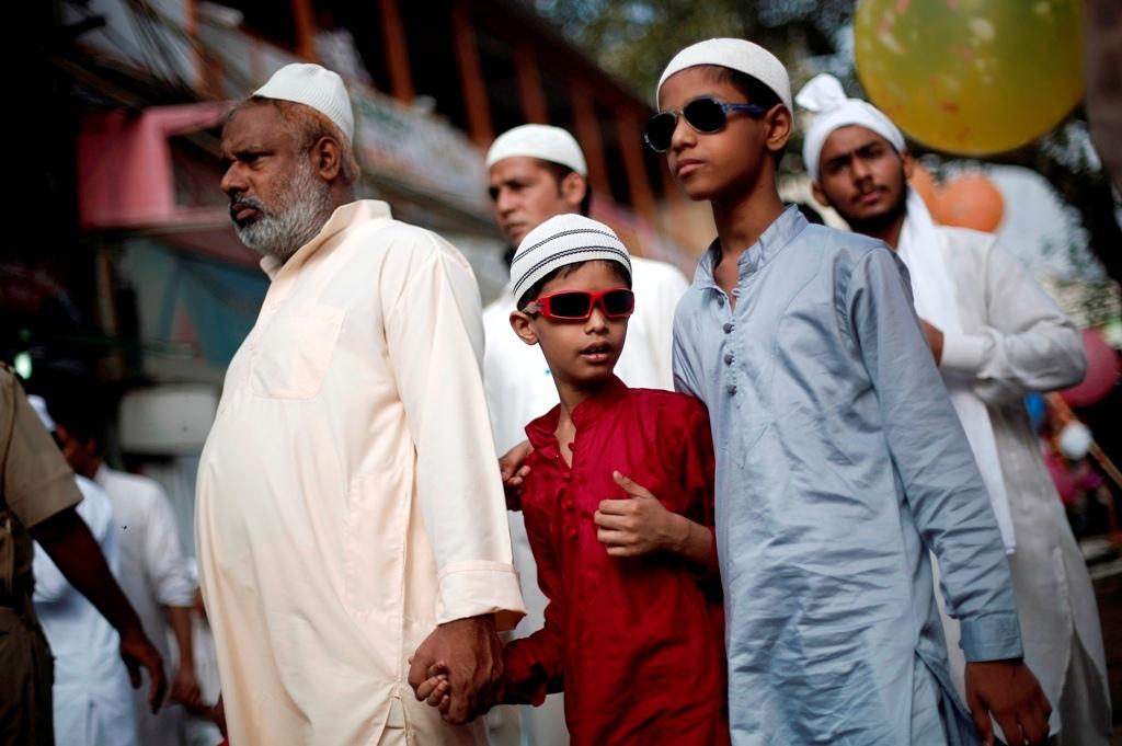 India Muslim Family