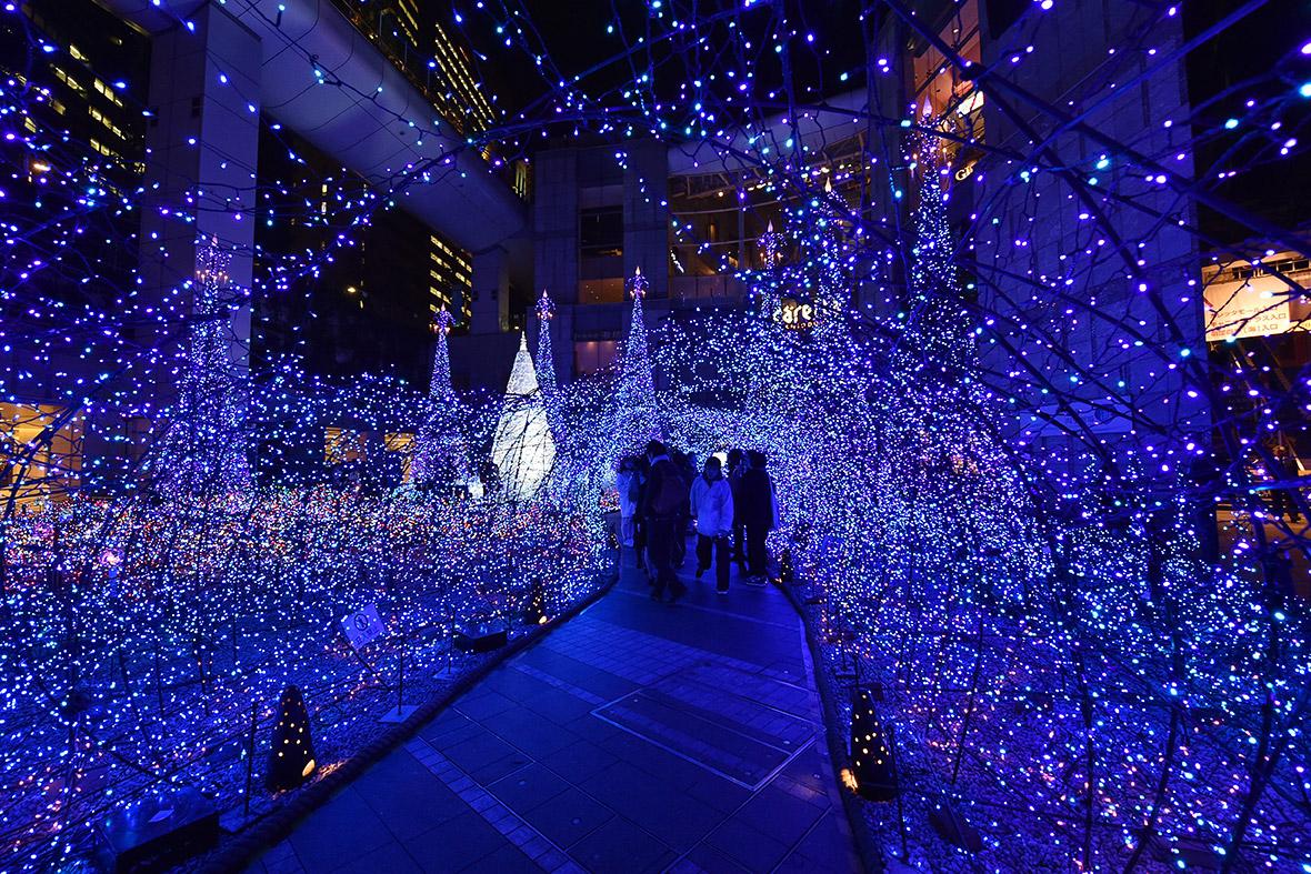 christmas lights tokyo