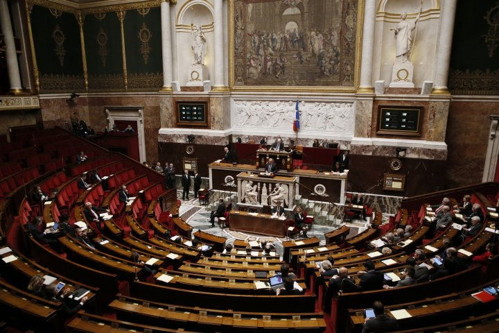 France Parliament Vote Palestinian State