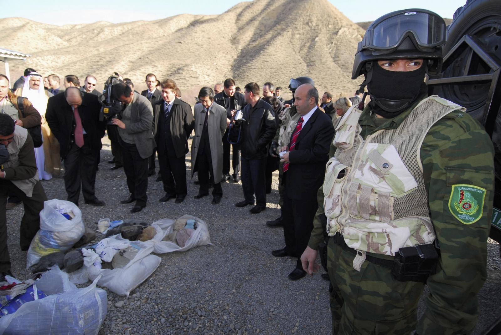 Turkmenistan drugs