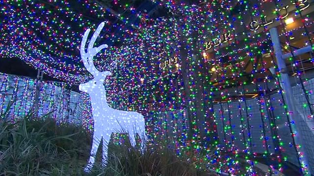 Canberra Christmas Lights Break Guinness World Record