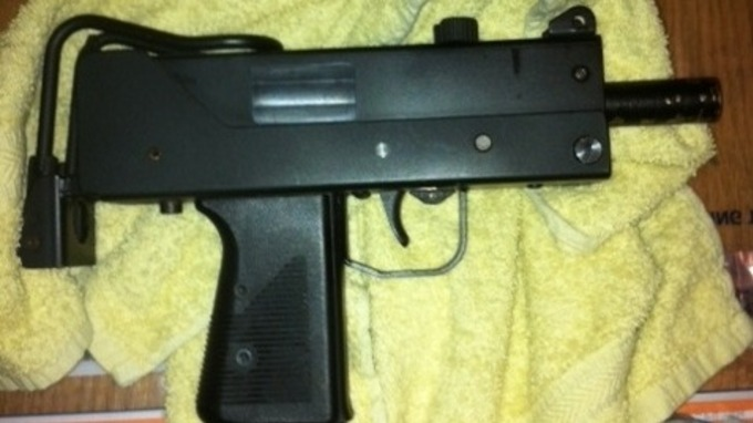 Loaded machine gun found at a house in Haringey, north London