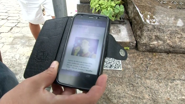 Hi-tech Tour of Brazilian Cemetery uses QR Codes on Tombs