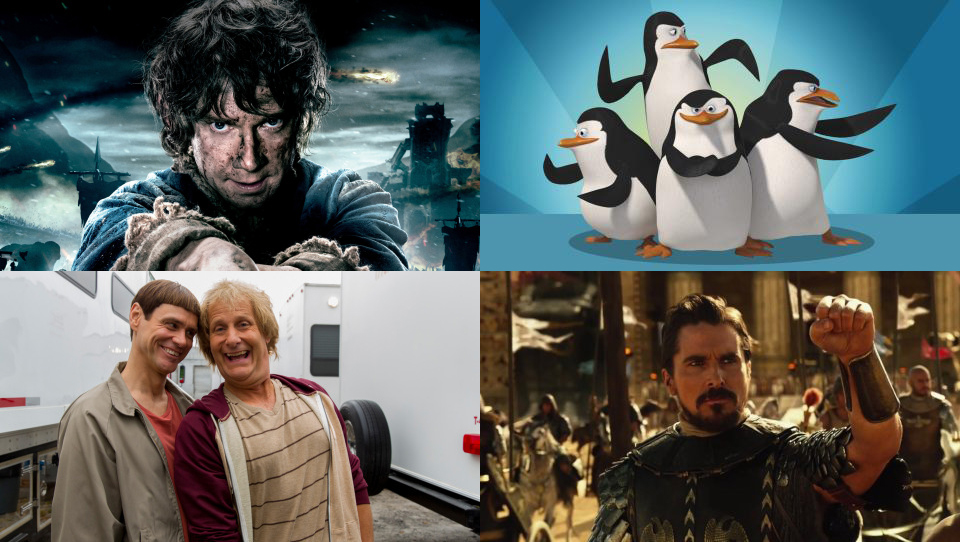 December Film Preview: The Hobbit The Battle of the Five Armies, Exodus Gods and Kings, Dumb and Dumber To