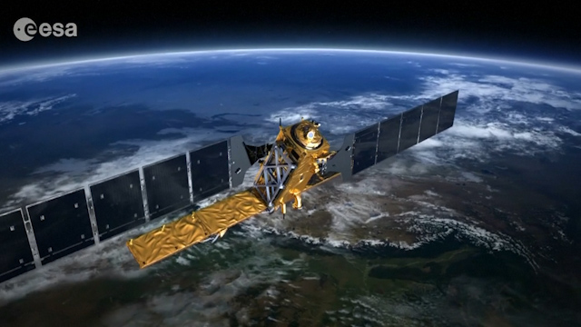 ESA Releases Animation to Illustrate Imagery from its Sentinel-1a Satellite