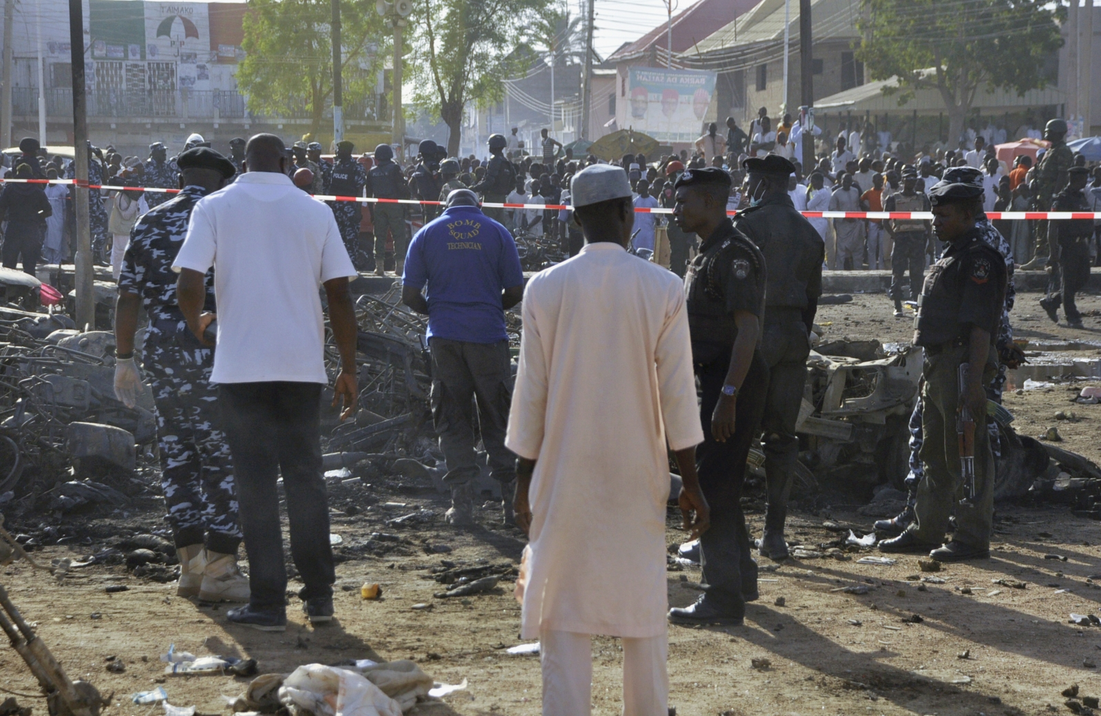Nigeria Mosque blasts
