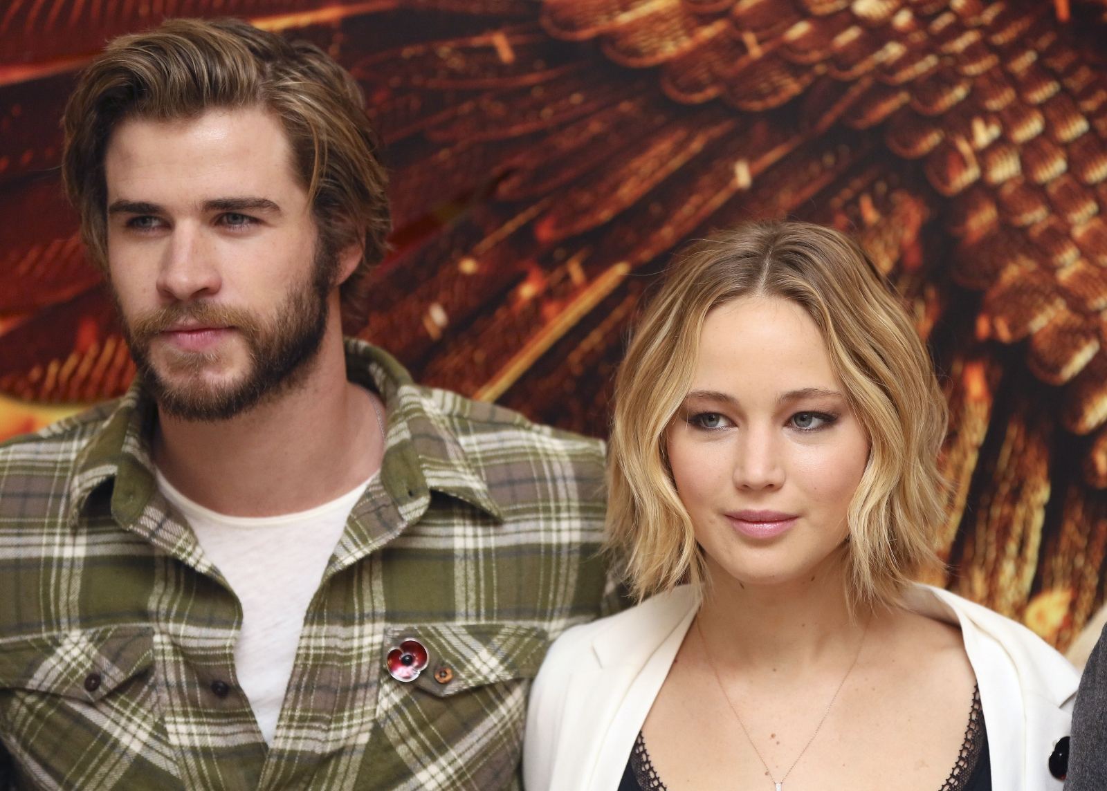 Jennifer Lawrence and Liam Hemsworth