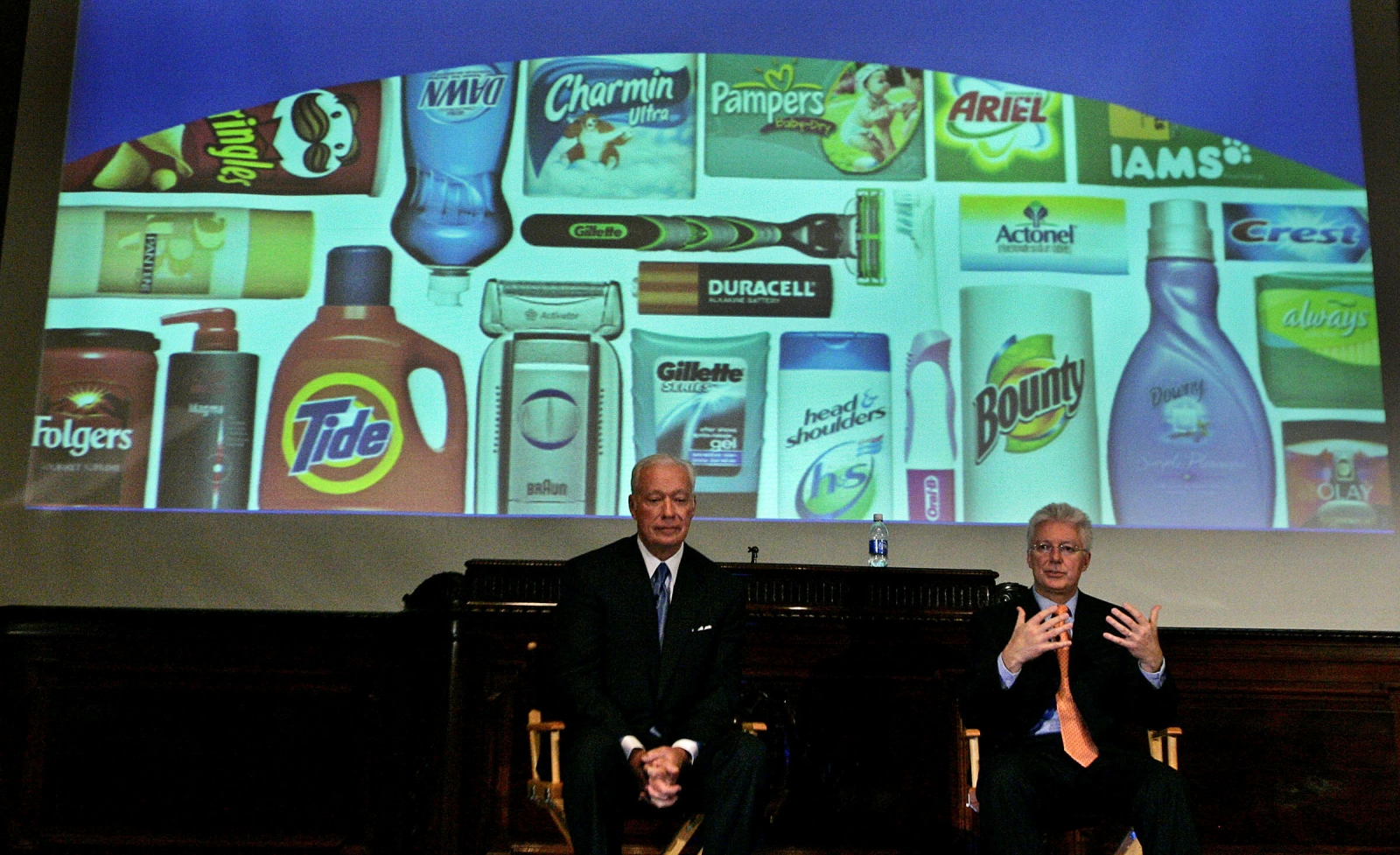 P&G announced a plan to sell off non-core 80 to 100 product lines that account for about 10% of its total revenue