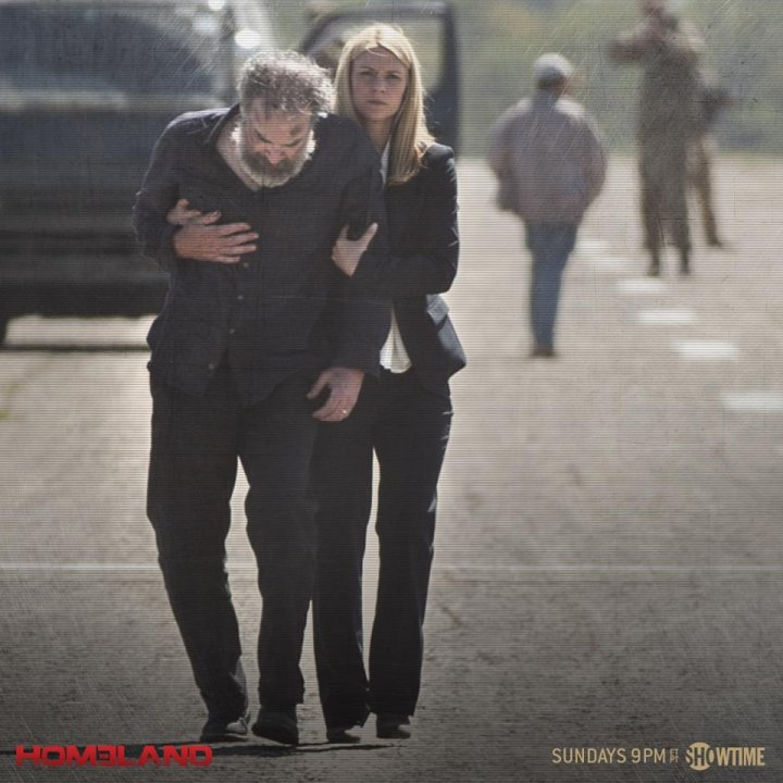Carrie and Saul