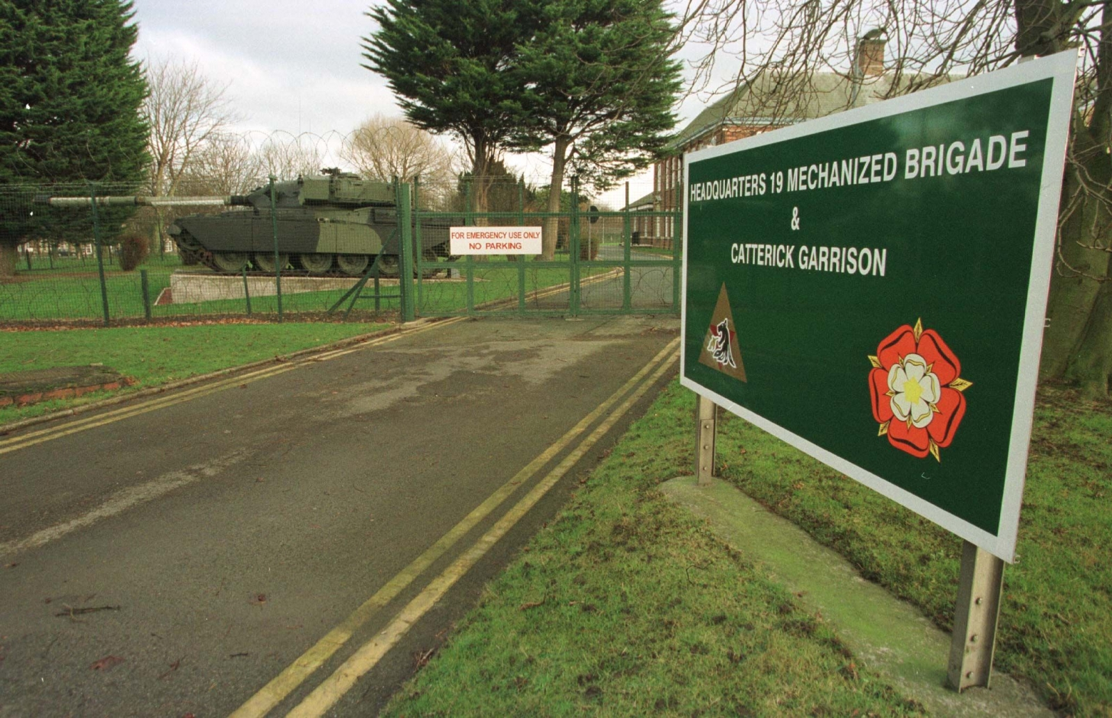 Catterick garrison explosion a1 road closures