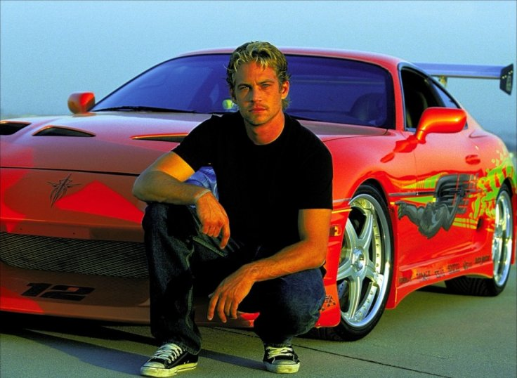Paul walker in Fast and The Furious