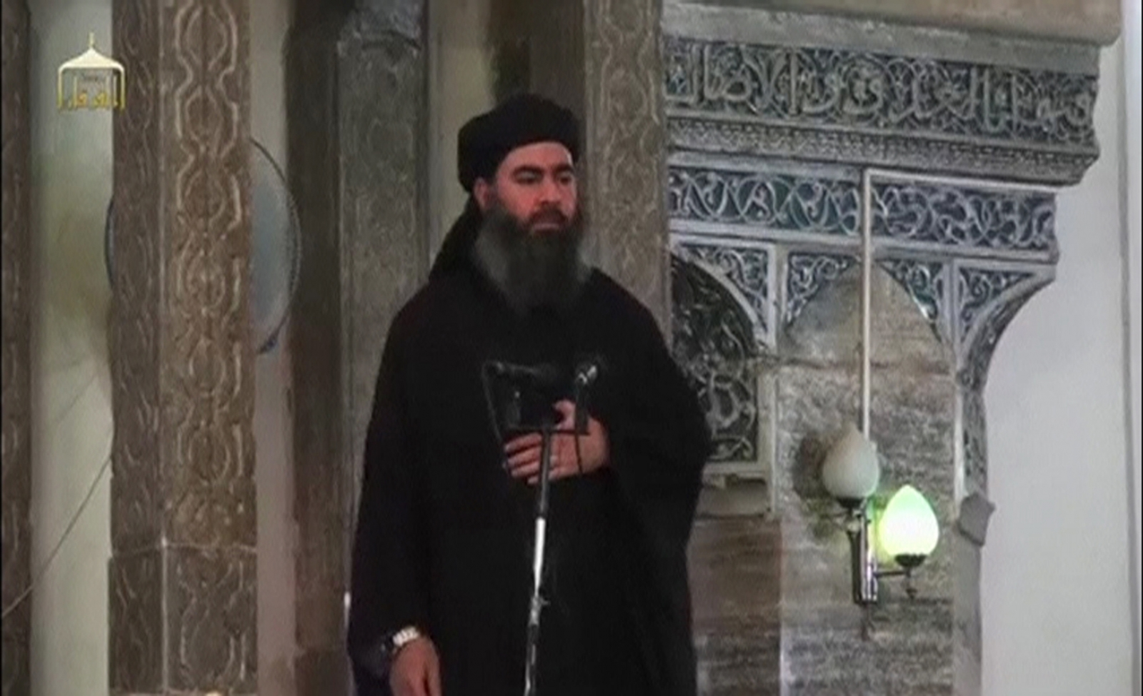 Isis chief Abu Bakr al-Baghdadi, the leader of Iraq-based extremist group Islamic State.