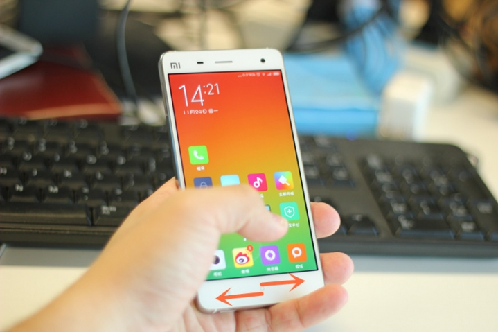 New MIUI 6 Update for Xiaomi Mi 3, Mi 4 Brings Allows you to Operate your Smartphones with Just One Hand